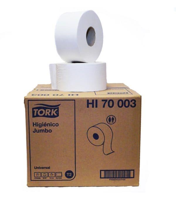 HIGIENICO JUMBO TORK 6 ROLLOS